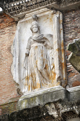 Wall Mural - Sculpture of Minerva in Rome, Italy