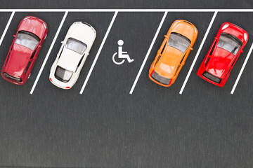 Parking for the disabled