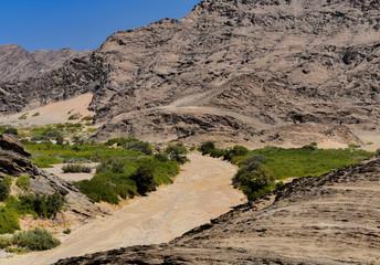 Etosha-Nationalpark Berg Landschaft in Namibia Südafrika