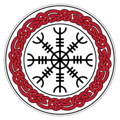 Aegishjalmur, Helm of awe (helm of terror), Icelandic magical staves