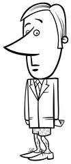 businessman without pants