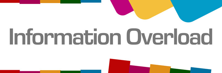 Information Overload Colorful Abstract Background