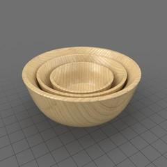 Bowl Bamboo Stack