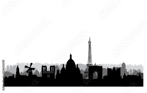 London City Buildings Silhouette British Urban Landscape Cityscape With Landmarks Travel UK Skyline Background Vacation In Europe Wallpaper