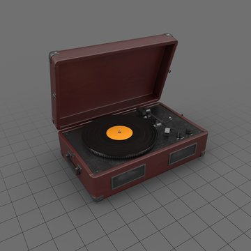 Record Player 02