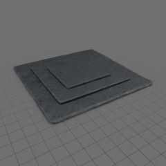 Serving Plates Ceramic Square 03