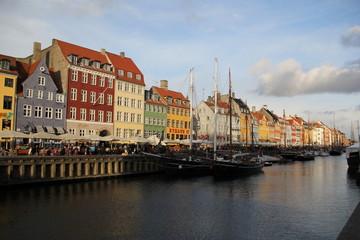 Copenhagen Denmark City Buildings