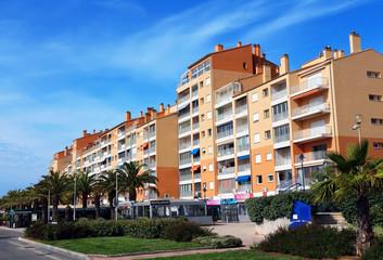 quartier du port - Hyères - France