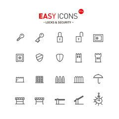 Easy icons 01a Security