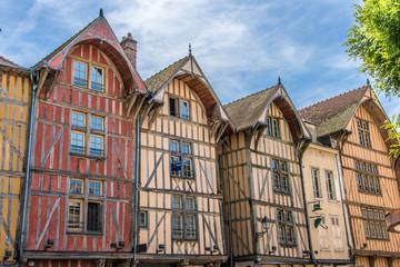 Maisons à pans de bois, Troyes, Grand-Est, France