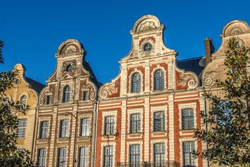 Façades et Maison urbaines des Flandres, Arras, France