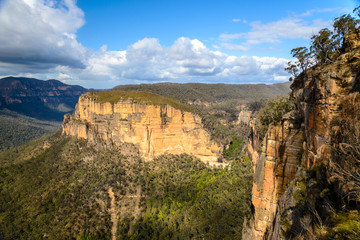 Baltzer Lookout in the Blue Mountains of Australia