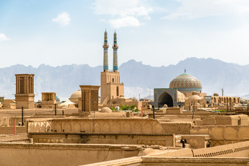 View over Yazd, Iran