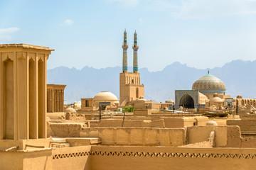 View over Yazd, Iran