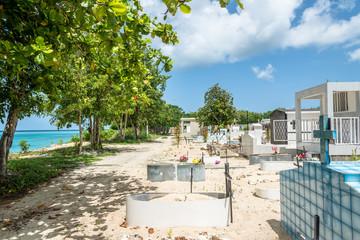 cemetery on the beachfront
