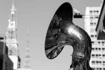 Sousaphone, wind instrument