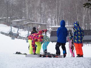 スキー場風景 北海道ルスツ
