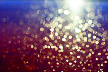gold bokeh, abstract, background