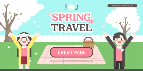 Spring Event Template