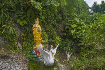 Kuan Yin - Buddhist goddess of mercy.
