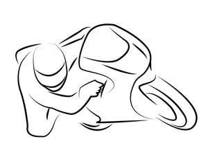 Disegno Moto Photos Royalty Free Images Graphics Vectors