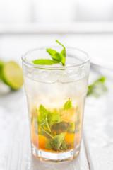Mojito Drink, Selective Focus