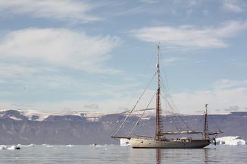 Sailing boat, Greenland