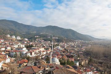 Beautifull view of the village Tarakli. Sakarya, Turkey. Beauty world.