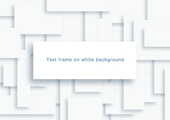 Text frame on white Background #Vector Graphics