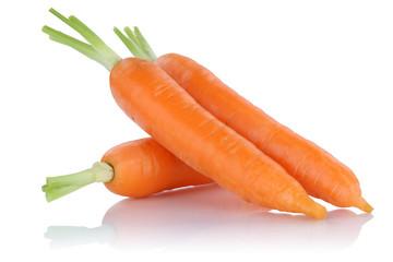Karotten Möhren Karotte Möhre frisch Gemüse Freisteller freig