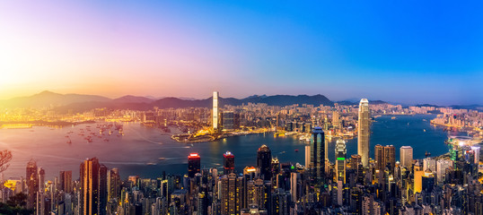 Traveling Asia Cities - Hong Kong City Scenes