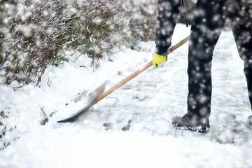 Schnee räumen