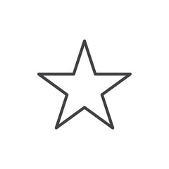 Star Icon Illustration Isolated Vector Sign Symbol