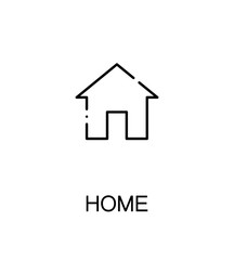 Home flat icon