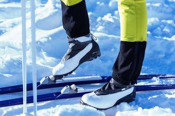 Langlauf Ski