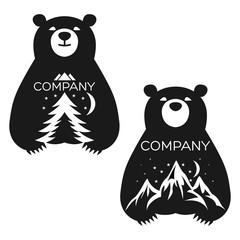 Baby bear logo