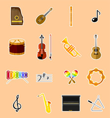 Instruments - Icons