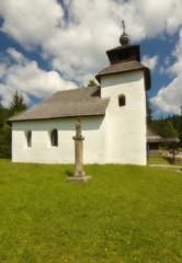 Old rural church in Slovakia