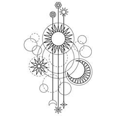 Astrology Modern Symbol