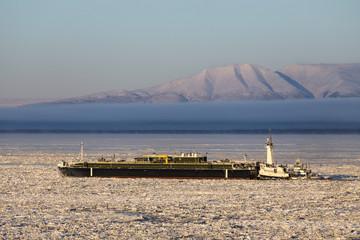 Arctic Shipping boat