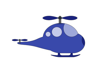 Helicopter cartoon toy