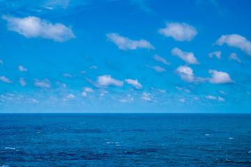 Portugal - Atlantic ocean underneath blue sky