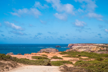 Portugal - Atlantic ocean and cliffs