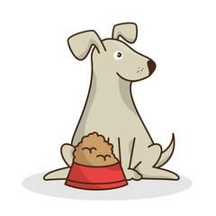 dog pet shop icon vector illustration design