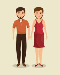 teamwork business people icon vector illustration design
