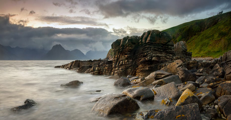 Poster Vieux rose Elgol stones
