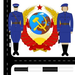 Traffic policemen in the USSR-2