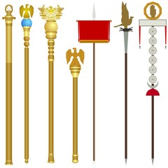 The symbolism of the ancient Roman legions