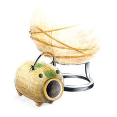 日本の夏・蚊取り線香の季節