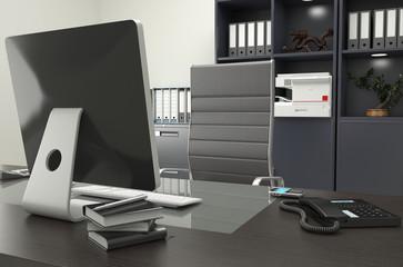 Scrivania dirigenziale con Pc Desktop